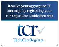 Receive your aggregated IT transcript through TechCertRegistry