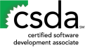 Certified Software Development Associate logo