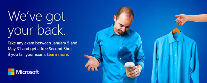 Free Second Shot offer