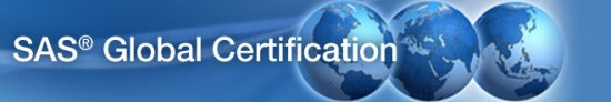 SAS Global Certification banner